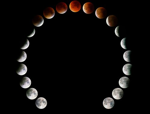 Super Moon Eclipse / Fully Phased / Horseshoe