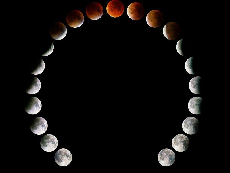 Super Moon Eclipse / Fully Phased / Horseshoe